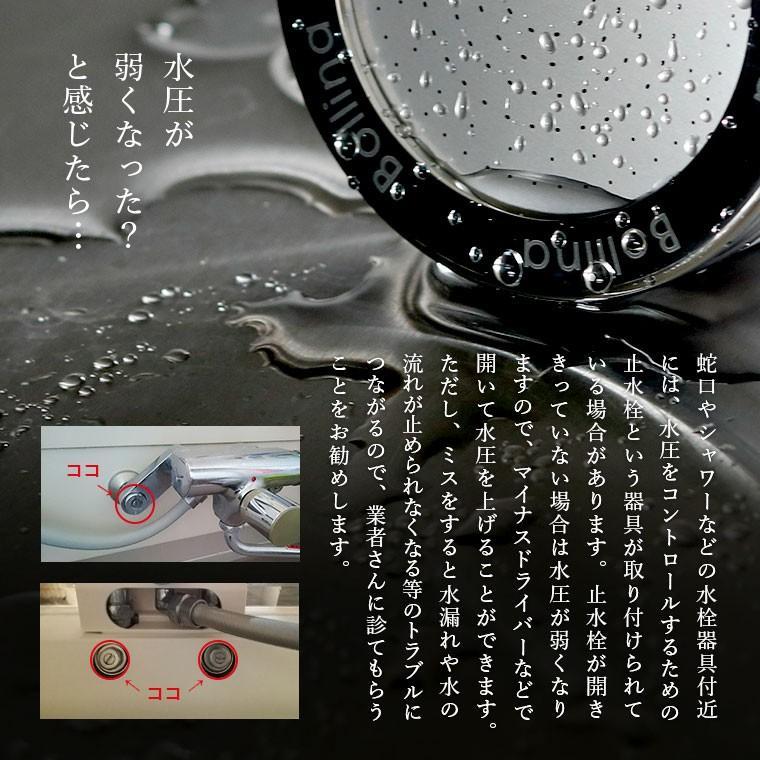 【送料無料】マイクロバブルシャワーヘッド「ボリーナワイドプラス(Bollina)」シルバー【日本製 シャワーヘッド マイクロナノバブル 節水シャワーヘッド】|furo|09