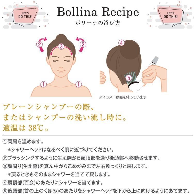 【送料無料】マイクロバブルシャワーヘッド「ボリーナワイドプラス(Bollina)」シルバー【日本製 シャワーヘッド マイクロナノバブル 節水シャワーヘッド】|furo|10