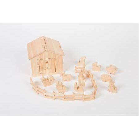 ふるさと納税 檜のおもちゃ IKONIHアイコニー アイコニーハウス 和歌山県九度山町