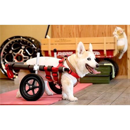 ふるさと納税 中型犬用二輪車椅子(背丈33·65cm 体重22キロ以下) 岐阜県池田町