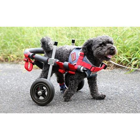 ふるさと納税 小型犬用二輪車椅子(背丈23·35cm 体重8キロ以下) 岐阜県池田町