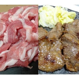 ふるさと納税 JAPAN X豚小間1.5kg&家庭用牛タン(塩味)600g/計2.1kg【訳あり】 宮城県蔵王町|furunavi