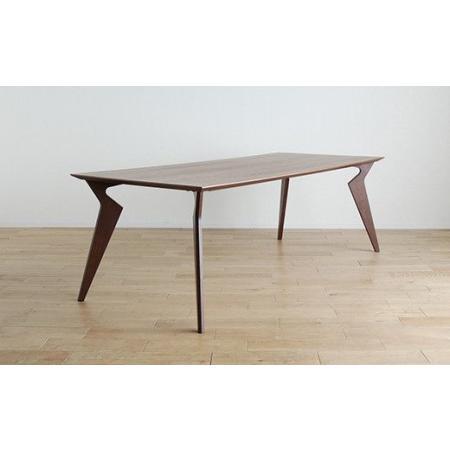 ふるさと納税 ヴォルド テーブル160cm ブラウン·02-DB-1422 福岡県大木町