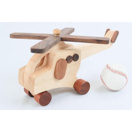 ふるさと納税 G-119 日本製!!「優しい木の玩具 ヘリコプター」 1個 佐賀県上峰町