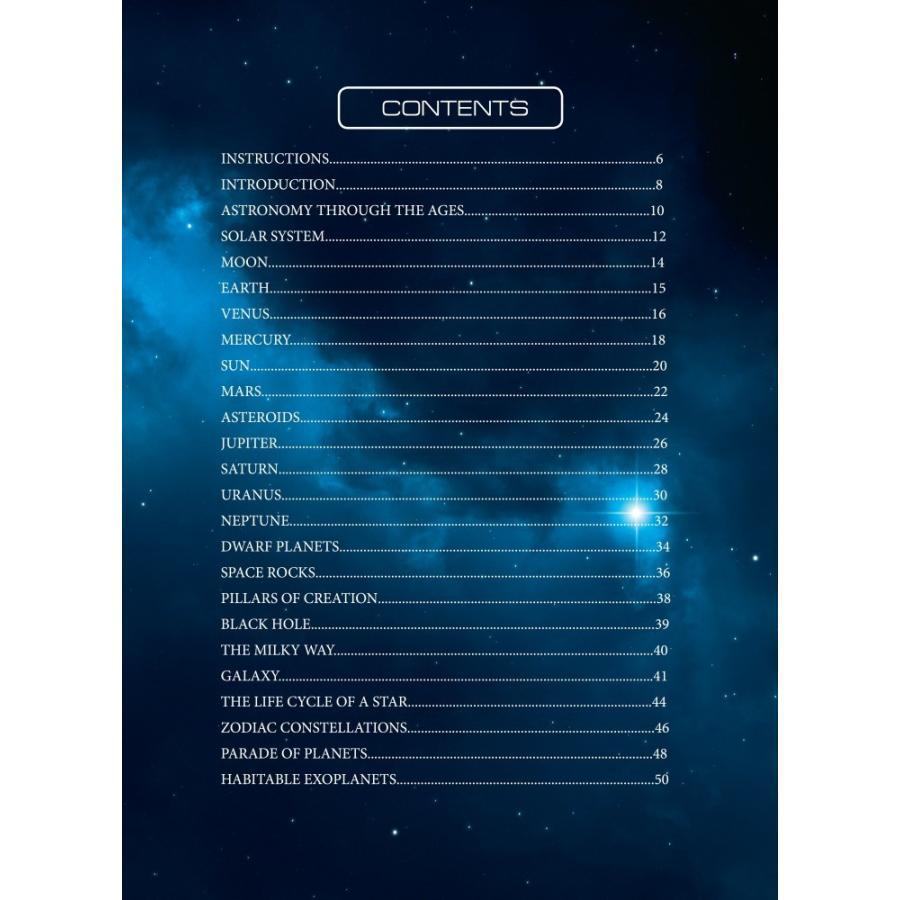 天体観察ができるAR宇宙図鑑「SPACE」 太陽系 惑星 天の川 創造の柱 ブラックホール 子供 大人 英語 リスニング|fushigibooks|04