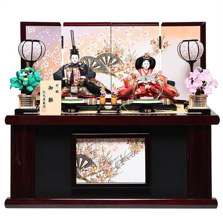 【雛人形収納飾】京三五親王飾:美琴雛:伏見屋監修【収納雛】
