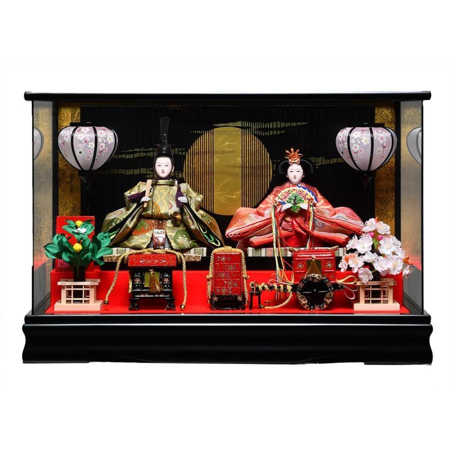 【ひなケース】ひなケース小三五親王ケース:京華作:パノラマケース【雛人形】【ひな人形】