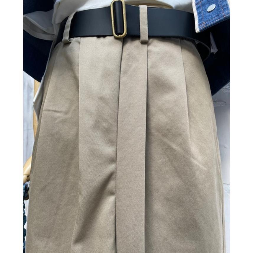 タイムセール 77circa circa make petal embroidery trousers skirt / 花びら型抜き 刺繍 スカート|fusion|14