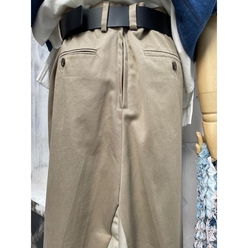 タイムセール 77circa circa make petal embroidery trousers skirt / 花びら型抜き 刺繍 スカート|fusion|15