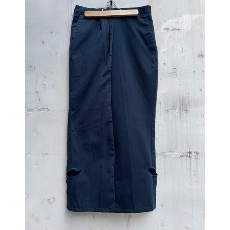 タイムセール 77circa circa make petal embroidery trousers skirt / 花びら型抜き 刺繍 スカート|fusion|05
