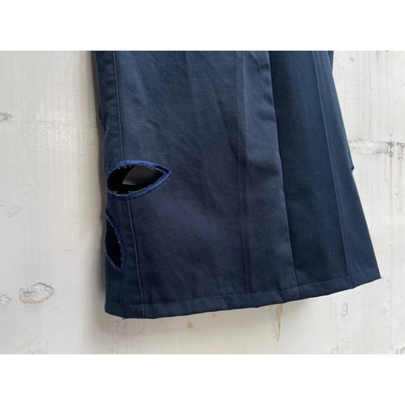 タイムセール 77circa circa make petal embroidery trousers skirt / 花びら型抜き 刺繍 スカート|fusion|07