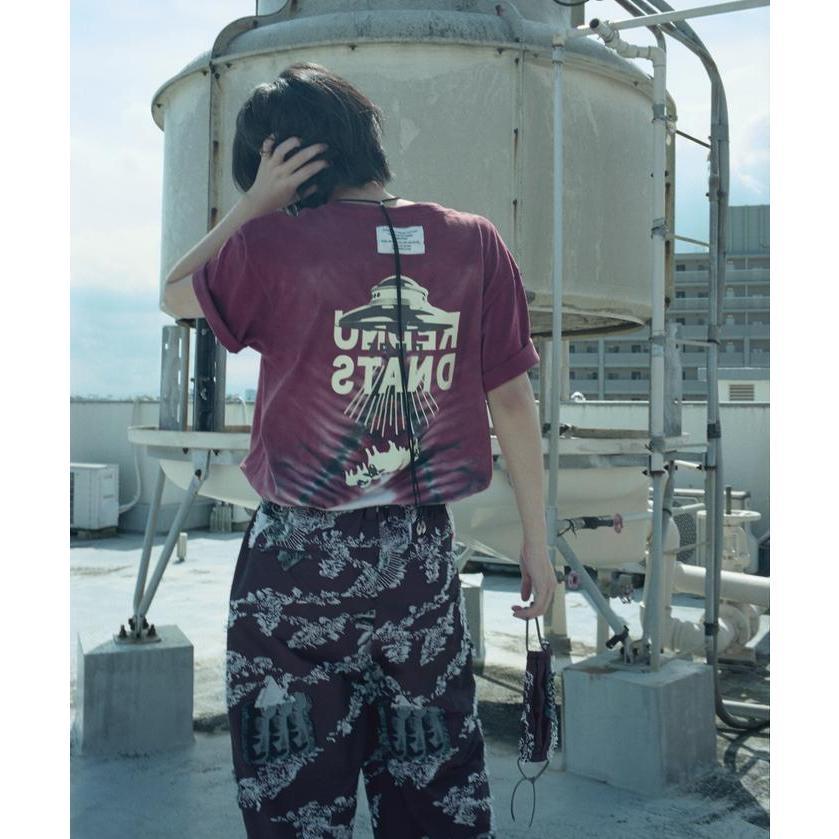 特別価格 YUKIDYE×SEVESKIG×TEXTA8000 UNDERSTAND ダイダイTシャツ fusion