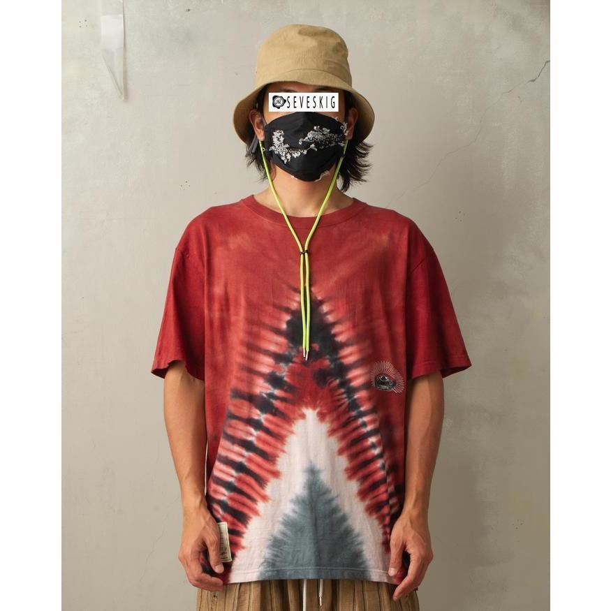 特別価格 YUKIDYE×SEVESKIG×TEXTA8000 UNDERSTAND ダイダイTシャツ fusion 02