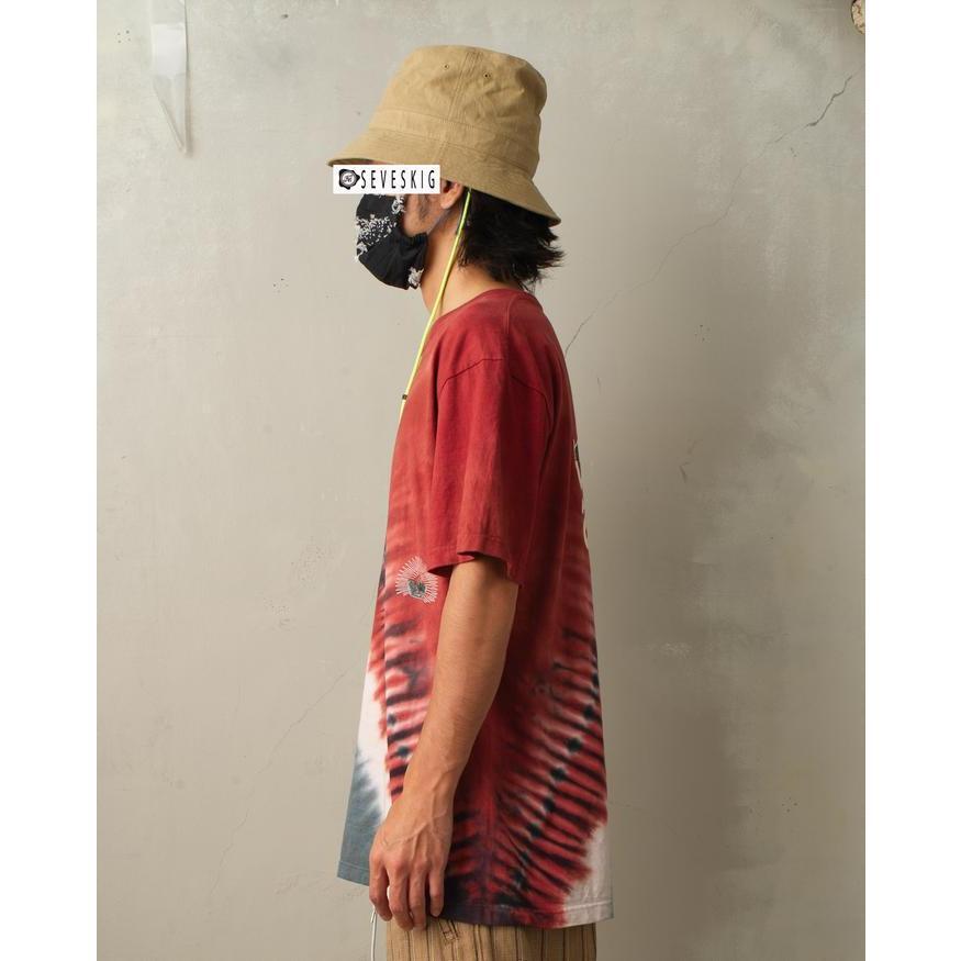 特別価格 YUKIDYE×SEVESKIG×TEXTA8000 UNDERSTAND ダイダイTシャツ fusion 03