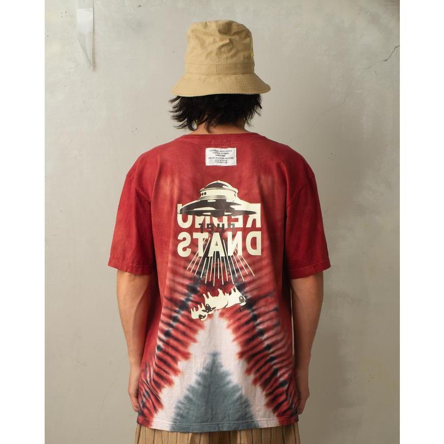 特別価格 YUKIDYE×SEVESKIG×TEXTA8000 UNDERSTAND ダイダイTシャツ fusion 04