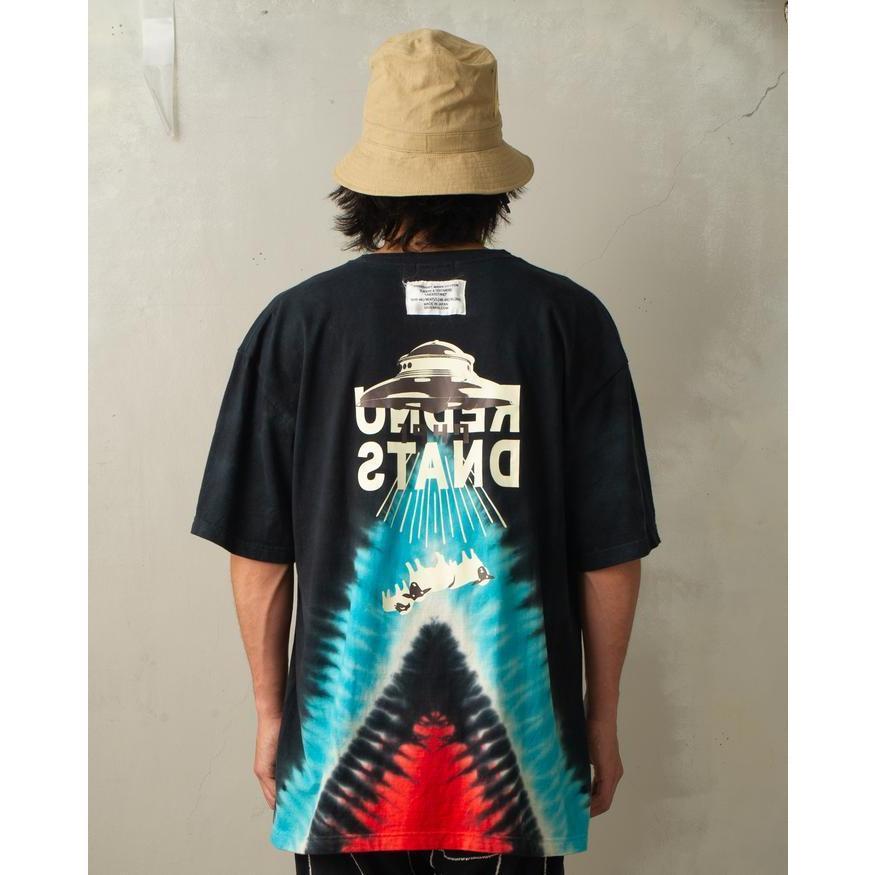 特別価格 YUKIDYE×SEVESKIG×TEXTA8000 UNDERSTAND ダイダイTシャツ fusion 07