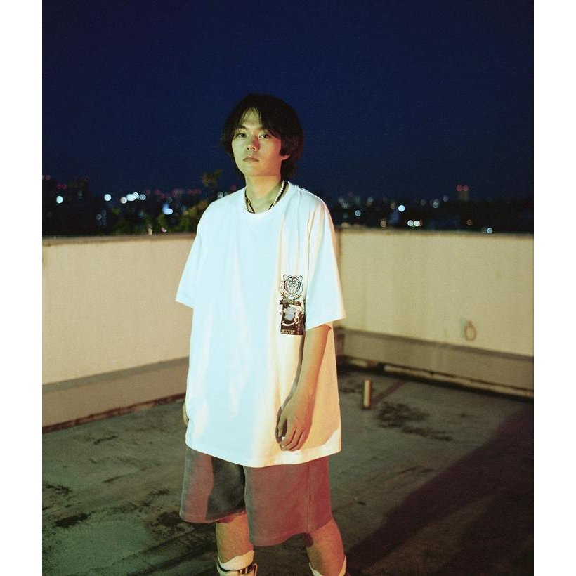 SEVESKIG / セヴシグ KOICHIRO TAKAGI × SEVESKIG EAT THEM ALL 刺繍/Tシャツ fusion
