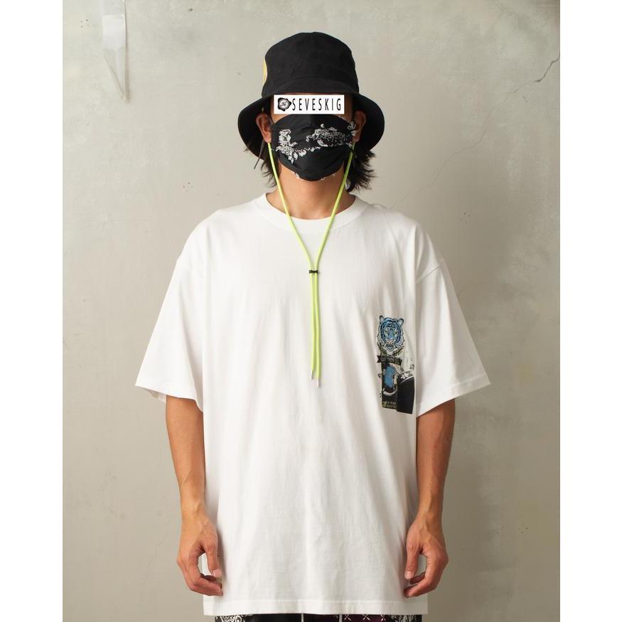 SEVESKIG / セヴシグ KOICHIRO TAKAGI × SEVESKIG EAT THEM ALL 刺繍/Tシャツ fusion 02
