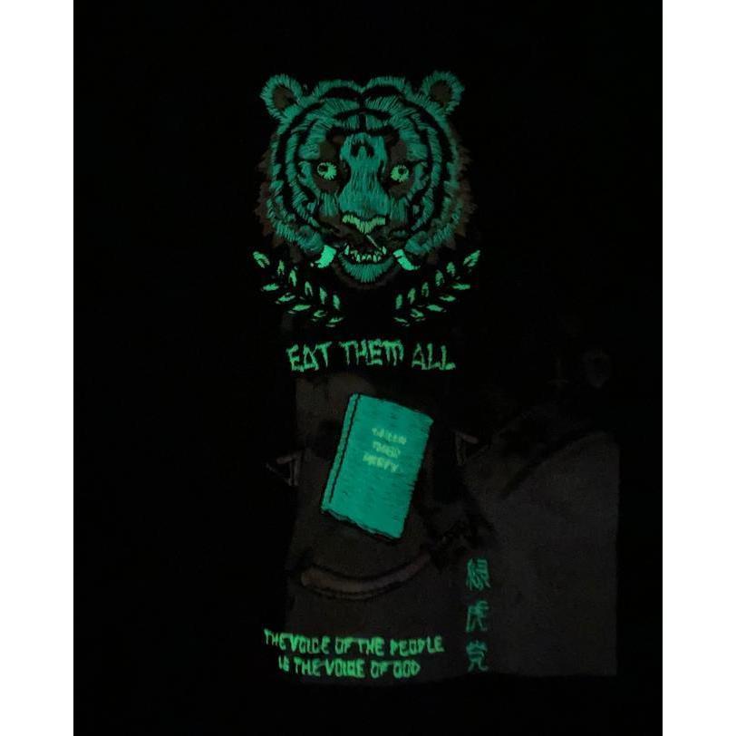 SEVESKIG / セヴシグ KOICHIRO TAKAGI × SEVESKIG EAT THEM ALL 刺繍/Tシャツ fusion 11