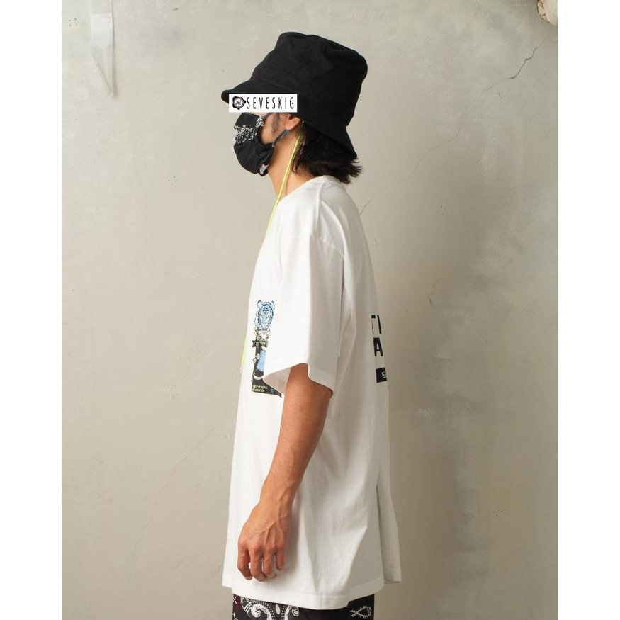 SEVESKIG / セヴシグ KOICHIRO TAKAGI × SEVESKIG EAT THEM ALL 刺繍/Tシャツ fusion 03