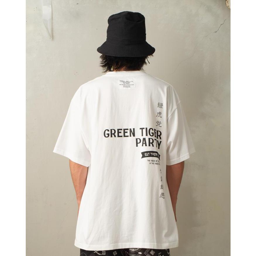 SEVESKIG / セヴシグ KOICHIRO TAKAGI × SEVESKIG EAT THEM ALL 刺繍/Tシャツ fusion 04