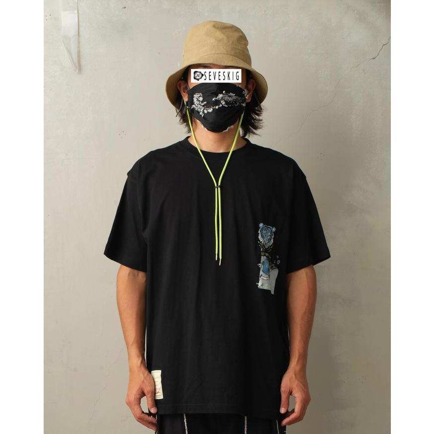 SEVESKIG / セヴシグ KOICHIRO TAKAGI × SEVESKIG EAT THEM ALL 刺繍/Tシャツ fusion 05