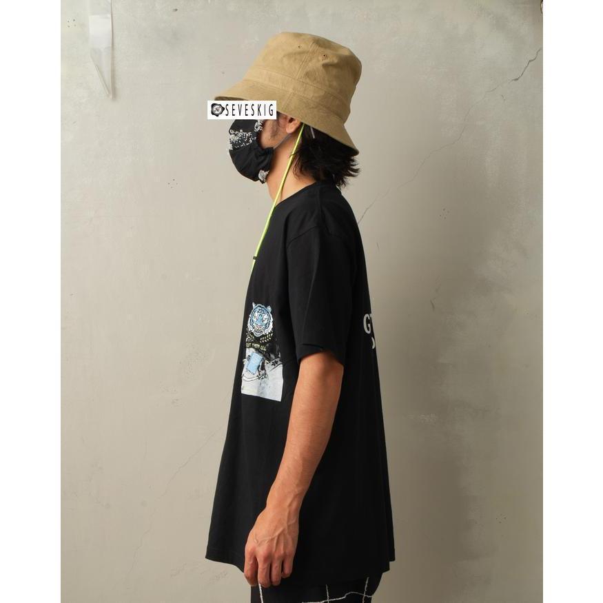 SEVESKIG / セヴシグ KOICHIRO TAKAGI × SEVESKIG EAT THEM ALL 刺繍/Tシャツ fusion 06