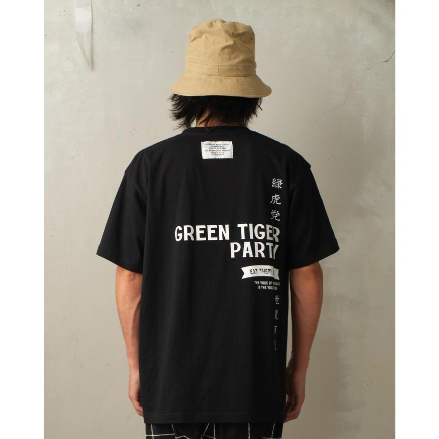 SEVESKIG / セヴシグ KOICHIRO TAKAGI × SEVESKIG EAT THEM ALL 刺繍/Tシャツ fusion 08