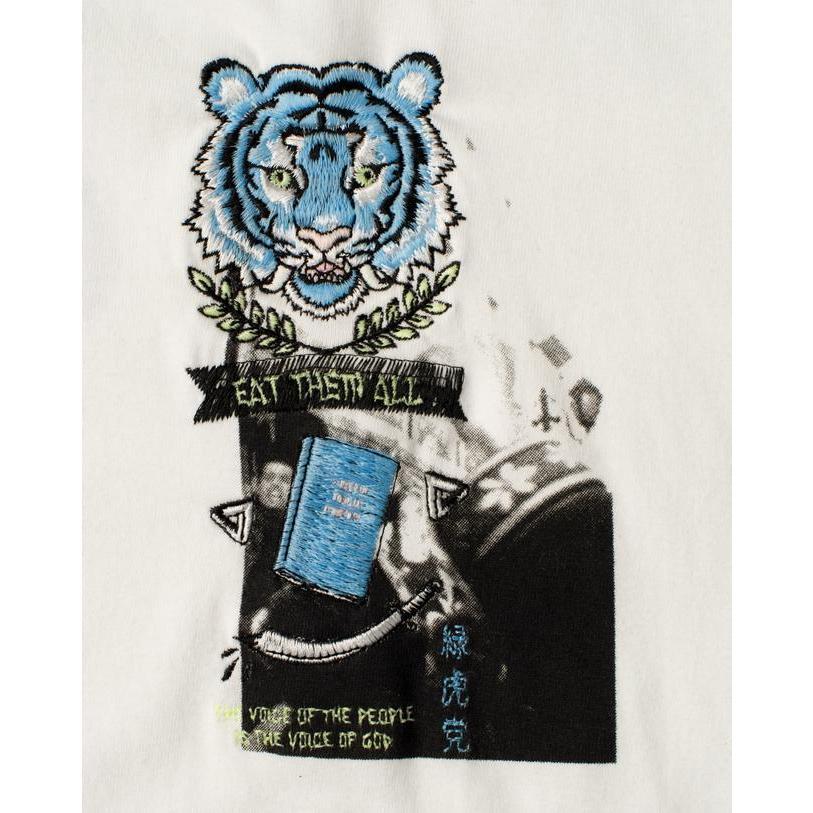SEVESKIG / セヴシグ KOICHIRO TAKAGI × SEVESKIG EAT THEM ALL 刺繍/Tシャツ fusion 10