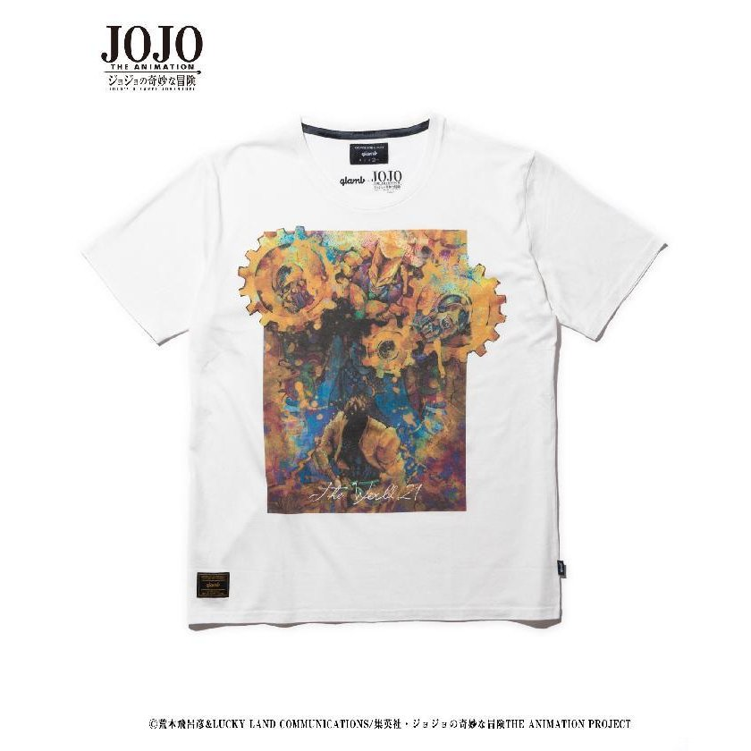 glamb・グラム ザ・ワールド T The World T JOJO ジョジョ DIO Tシャツ 2021/vol.4|fusion|10