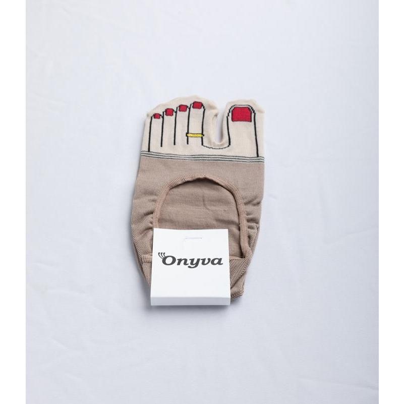 Onyva・オニヴァ 足袋タイプ/フットカバー・足指モチーフ|fusion|07