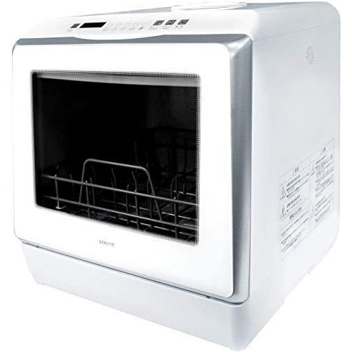 SOUYI 食器洗い乾燥機 工事不要 熱風 360° 噴射式 SY-118