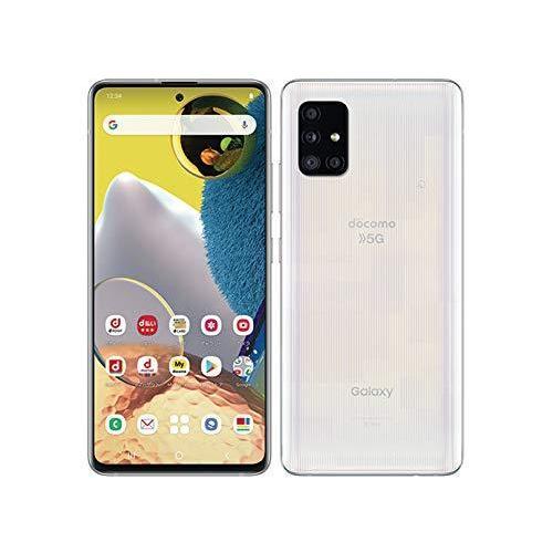 SIMフリー docomo Galaxy A51 5G SC-54A [プリズム ブリックス ホワイト] スマートフォン本体