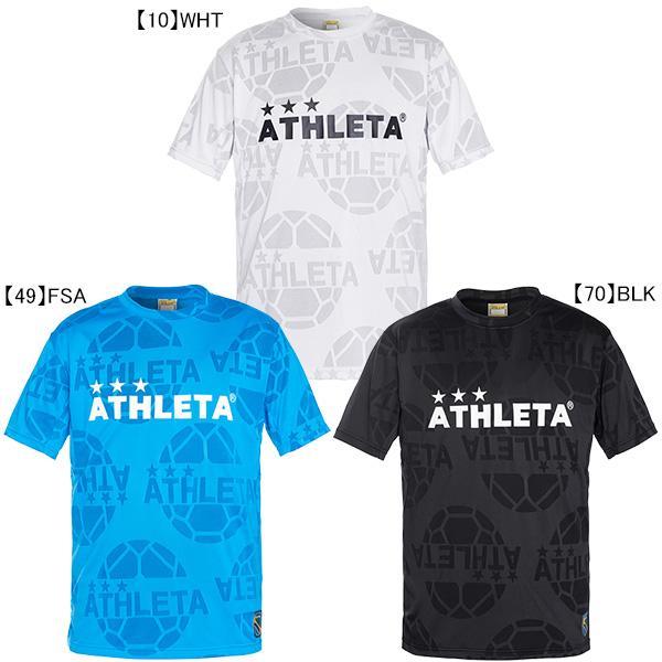 ネコポス選択可 日時指定 アスレタ ATHLETA ジュニア 新着 ジャガード メッシュ Tシャツ サッカー 半袖 子供用 フットサル 03352J プラクティスシャツ