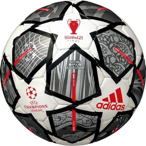 アディダス !超美品再入荷品質至上! 4号 フィナーレ 20周年 リーグ ルシアーダ ギフト 2020-2021 AF4401-TW 決勝トーナメント チャンピオンズリーグ レプリカ UEFA