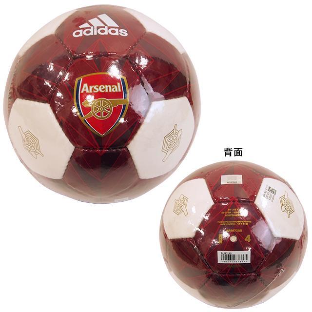 アディダス adidas クラブライセンス 限定特価 アーセナル 新作販売 AF4672-AR 4号 プレミアリーグ サッカーボール