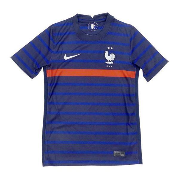 フランス代表 2020 ジュニア ホーム 半袖 レプリカユニフォーム サッカー ナイキ 紺 正規取扱店 CD1036-498 NIKE 在庫あり ネイビー 子供用