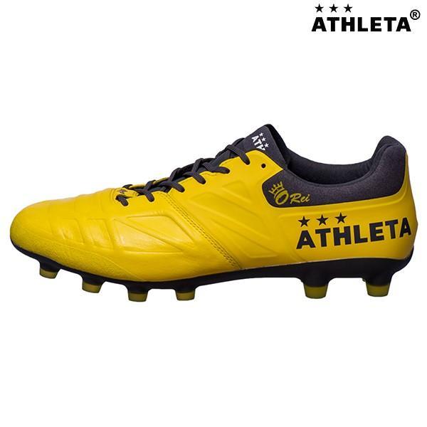 アスレタ ATHLETA O−Rei Futebol T004 10008 サッカースパイク 天然芝・人工芝・土用 カンガルー イエロー 黄色 オーヘイ 2019年春夏