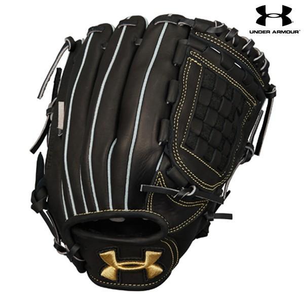 割引価格 2018年NEWモデル アンダーアーマー ボーイズ ベースボールユース軟式グラブ 1313821 野球 ジュニア 少年軟式用 オールラウンド用 グローブ 右投げ用 ブラック 黒, アートショップ フォームス b5d280c6