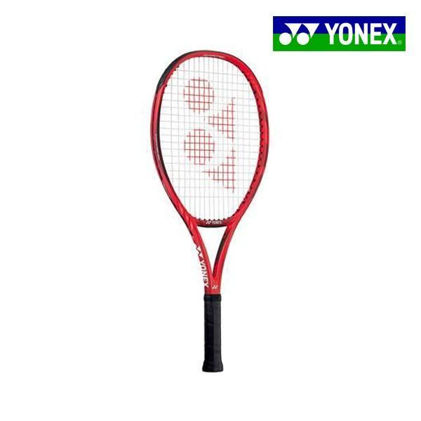 張り上げ済み ヨネックス YONEX Vコア 25 18VC25G-596 ジュニア 硬式 テニスラケット 240g 競技志向モデル フレイムレッド