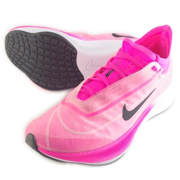 9月15日発売 ナイキ NIKE ウィメンズ ズーム フライ 3 AT8241-600 レディース ランニングシューズ ジョギング マラソン ラントレ 練習 競技 陸上 部活 ピンク