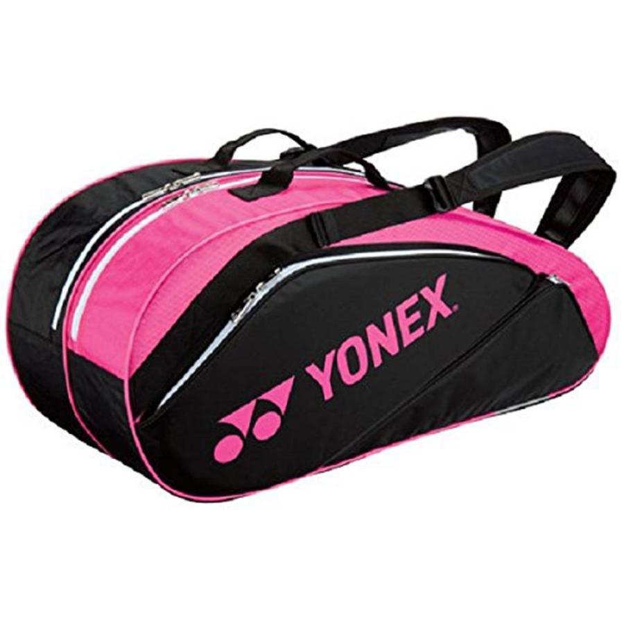 ヨネックス YONEX ラケットバック6(リュック付き、テニス6本用) BAG1632R 747 ブラック/Rピンク