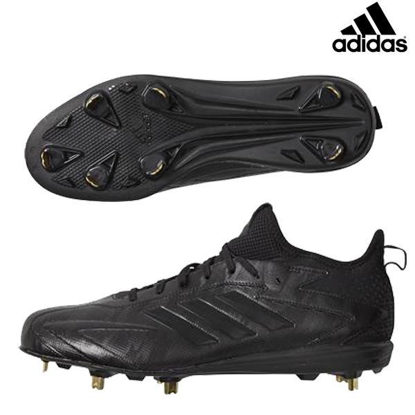 アディダス adidas メンズ 野球 埋め込み金具スパイク アディゼロ スピード7 PRO BW1150 ブラック
