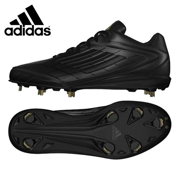 アディダス adidas 野球 金具スパイク 埋め込み式 adizero 4 アディゼロ4 CR681-D73821