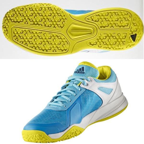 アディダス adidas テニスシューズ オムニ・クレーコート用 adizero court OC BB3413 サンバブルー