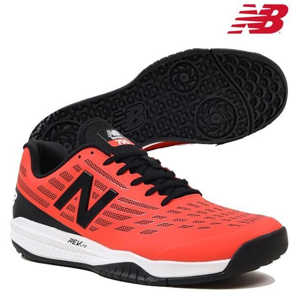 【セール】ニューバランス New Balance MCO796 R1 メンズ テニスシューズ オムニ・クレーコート用 2E幅 軽量 レッド 赤 校庭 部活 特価