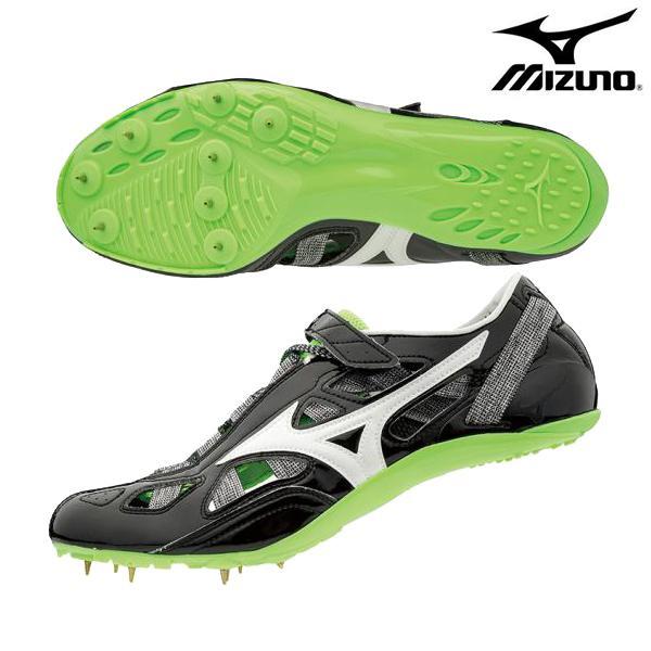 ミズノ mizuno クロノインクス 9 U1GA190109 メンズ レディース 男女兼用 ランニングスパイク 陸上スパイク 短距離用 オールウェザー U1GA1901-09 黒