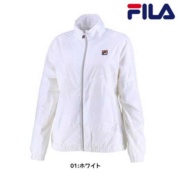 フィラ FILA ウインドアップジャケット VL1769 レディース テニスウエア ウインドブレーカー トレーニング