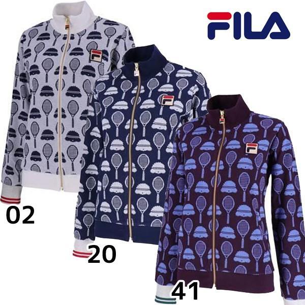 最新発見 フィラ FILA レディース トラックジャケット フィラ VL1861 テニスウェア レディース FILA テニスウェア 女性 ウィメンズ, 古武士屋:890a8a1f --- airmodconsu.dominiotemporario.com
