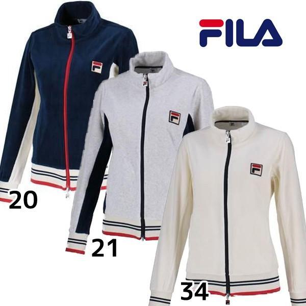 フィラ FILA レディース トラックジャケット VL1869 レディース テニスウェア 女性 ウィメンズ